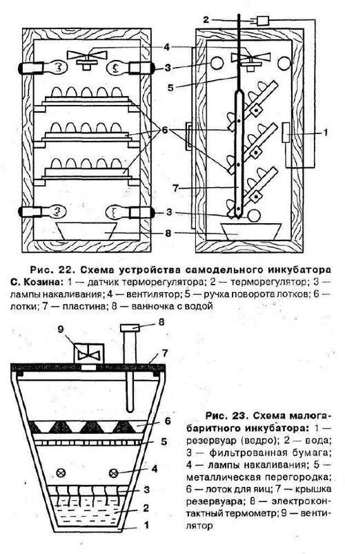 Инкубатор своими руками устройство 413