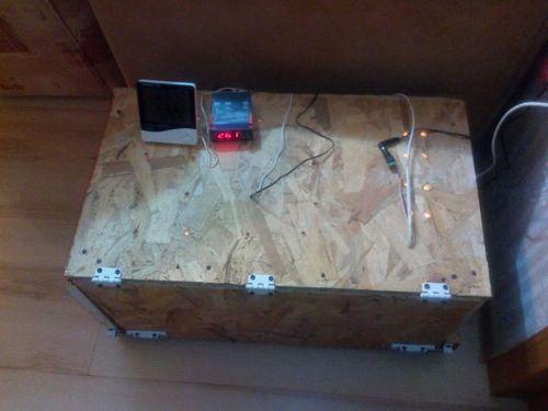 инкубатор из коробки
