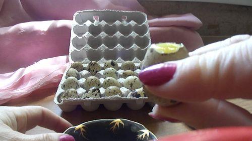 Перепелинное яйцо
